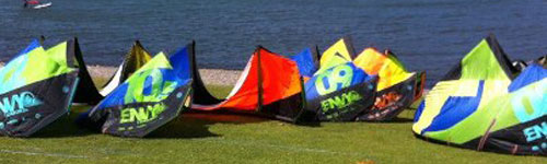 Liquid Force kite rentals and demo in New York Plumb beach
